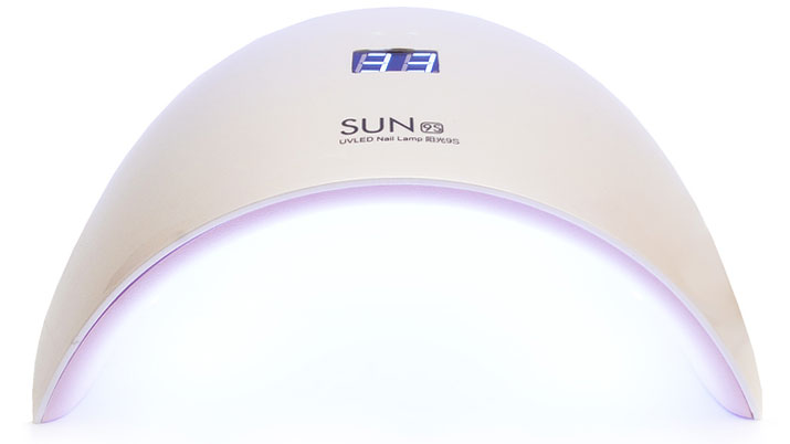 Лампа Sun 9 UV/LED 24W (30sec), displey.