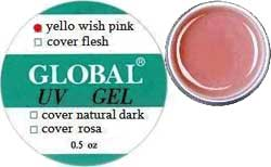 Global Yello wish Pink Gel, 15 gr.
