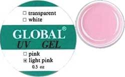 Global Yellowish Pink Gel, 15 gr.